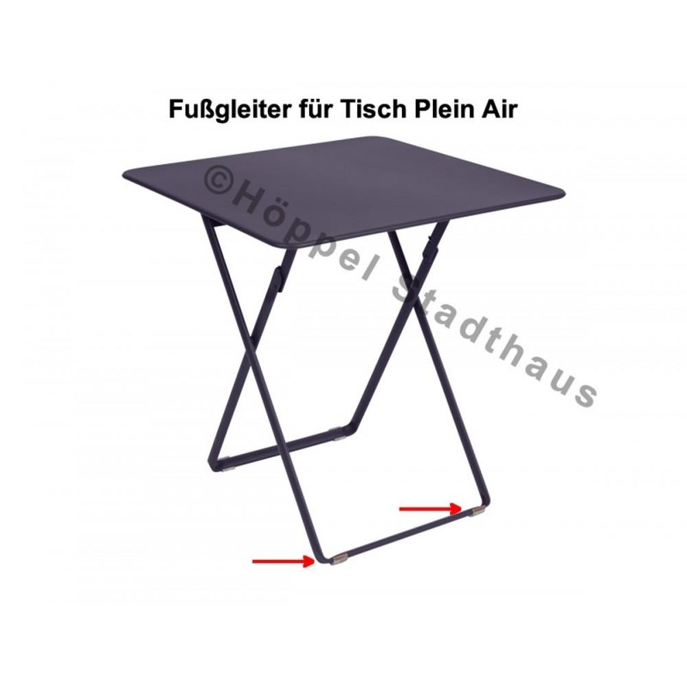 Fermob Fußgleiter für den Tisch Plein Air