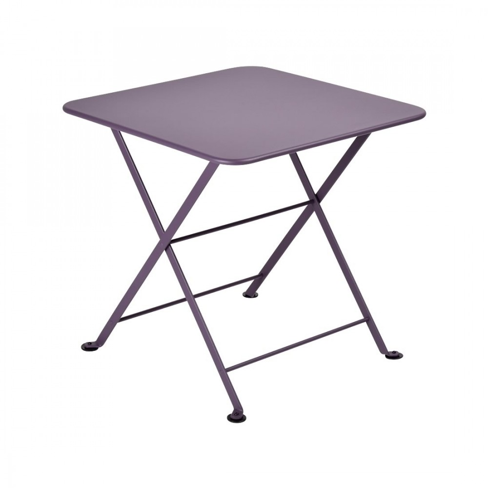 Fermob niedriger Tisch Tom Pouce, 50 x 50 cm - Pflaume