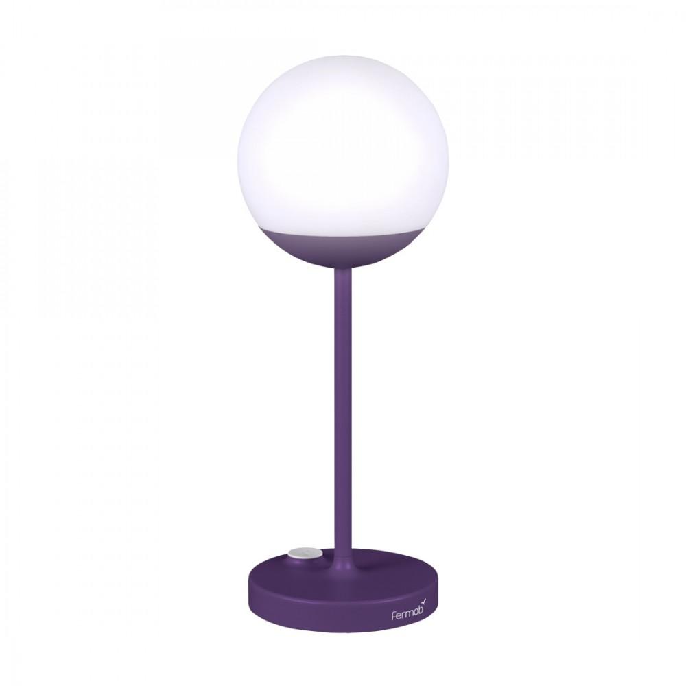 Fermob Lampe Mooon, Höhe: 40 cm - Aubergine