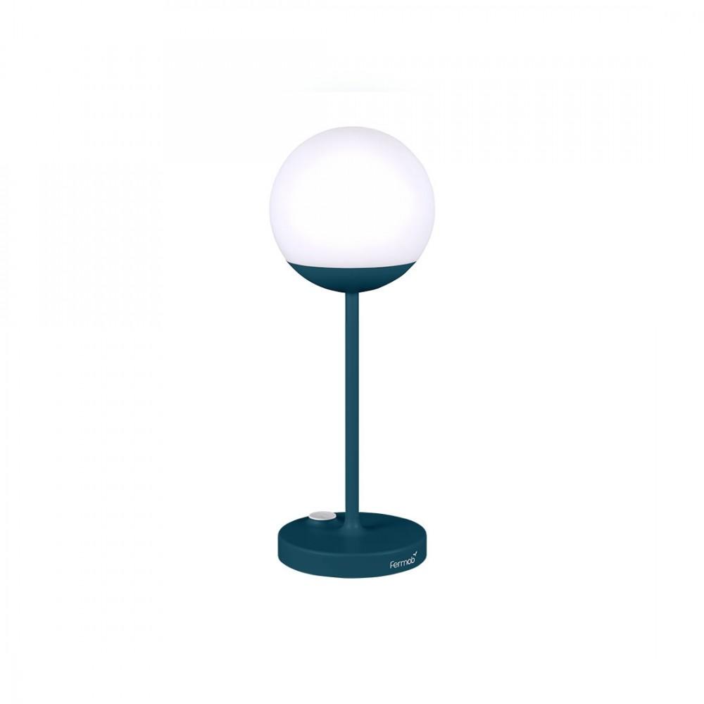 Fermob Lampe Mooon, Höhe: 41 cm - Acapulcoblau