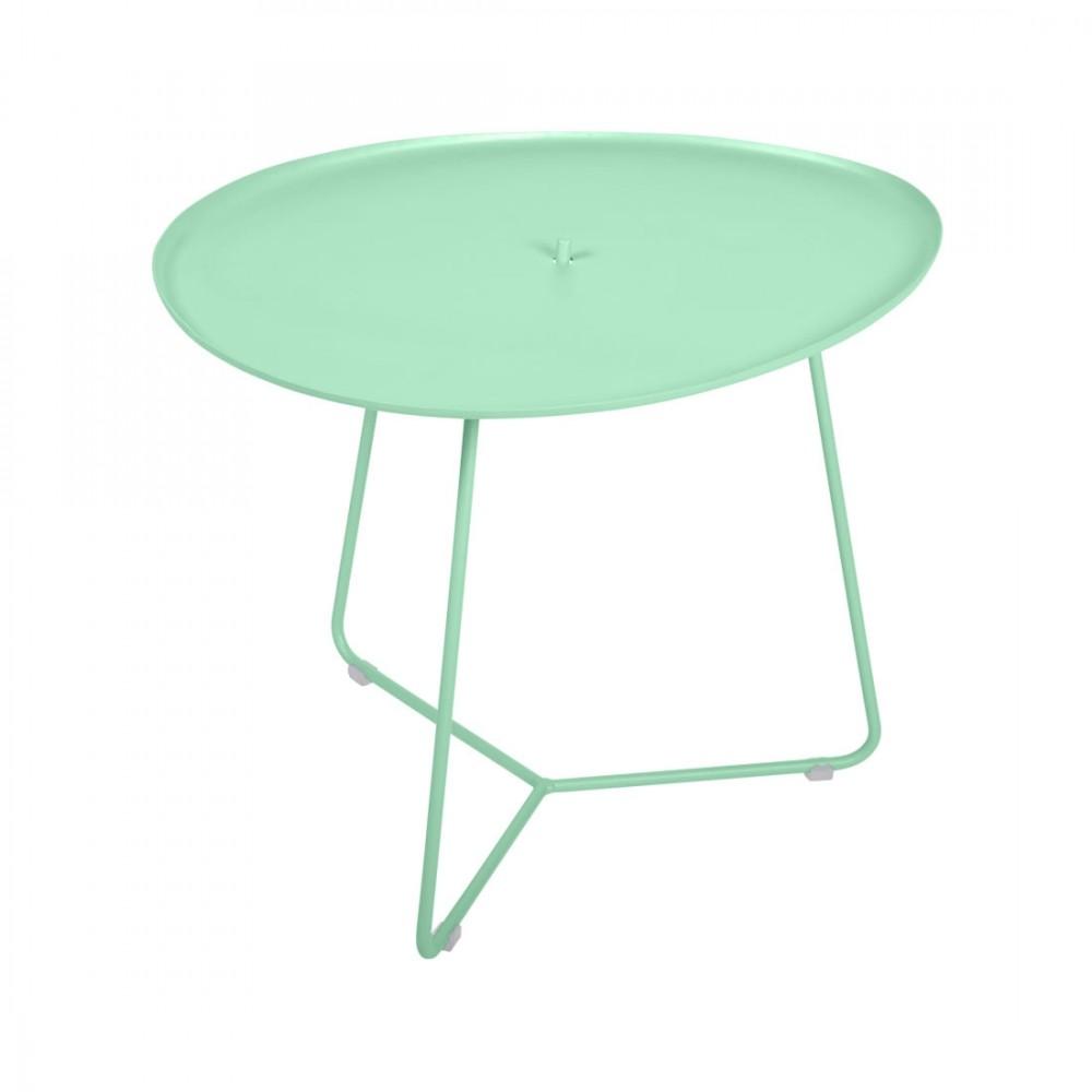 Fermob niedriger Tisch Cocotte - Opalgrün