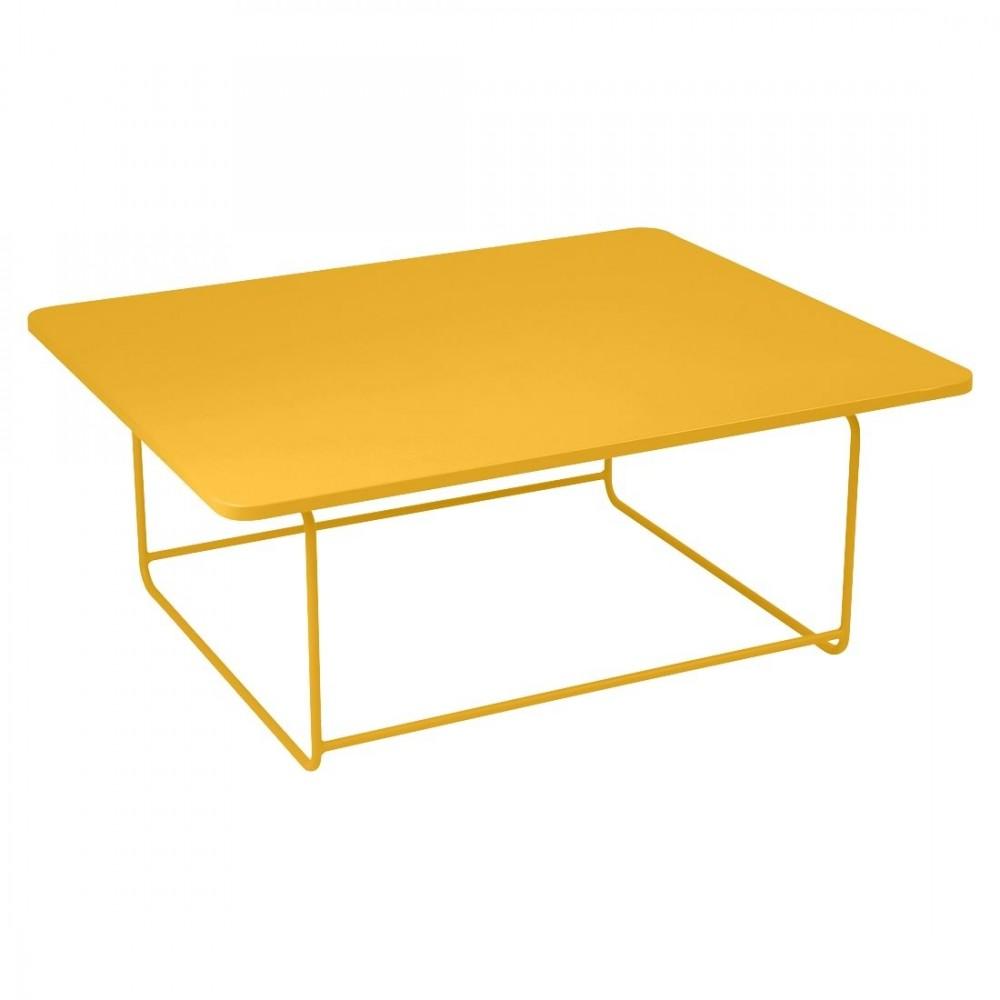 Fermob niedriger Tisch Ellipse, 110 x 90 cm