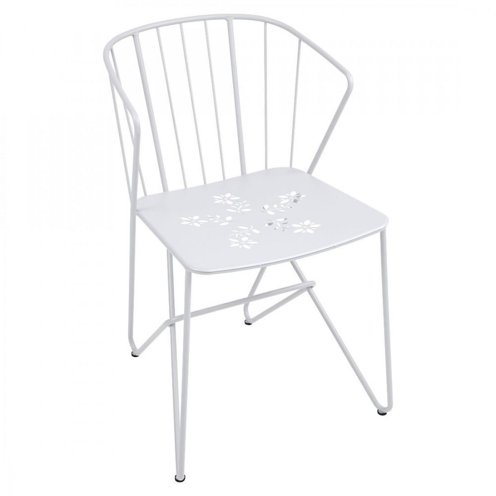 Fermob Sessel Flower - Baumwollweiß