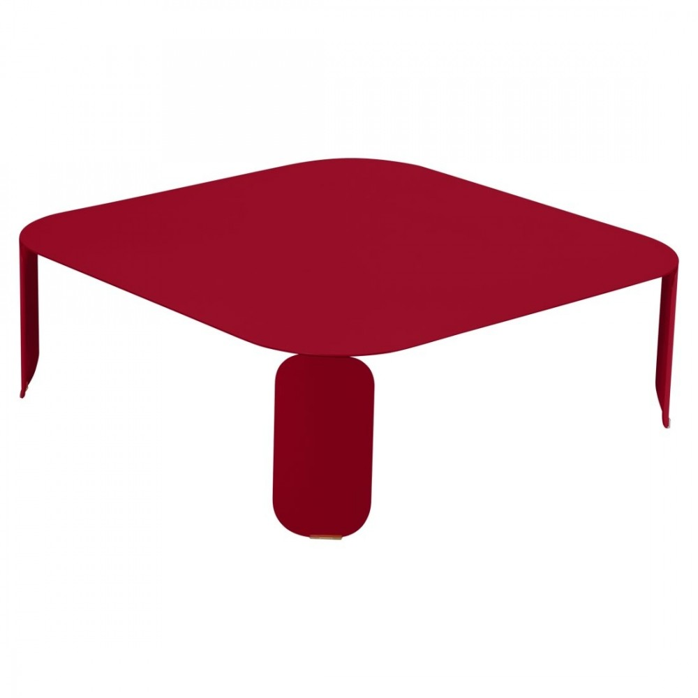 Fermob niedriger Tisch Bebop, 90 x 90 x 29 cm