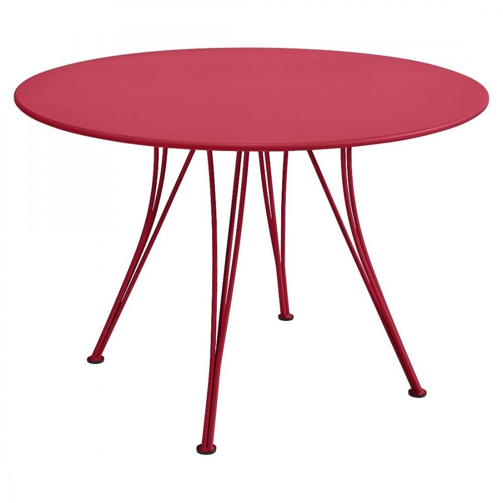 Fermob Tisch Rendez-Vous, Ø 110 cm - Rose Praline