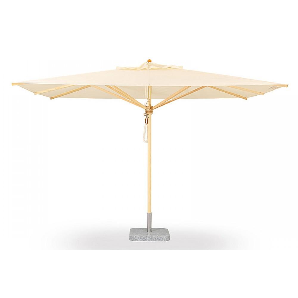 Weishäupl Sonnenschirm Klassiker, 300 x 400 cm - Stoffbespannung ACRYLTUCH