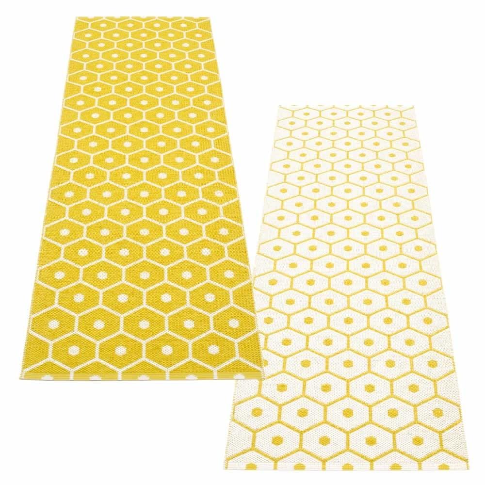 Pappelina Honey, Teppich, 70 x 225 cm
