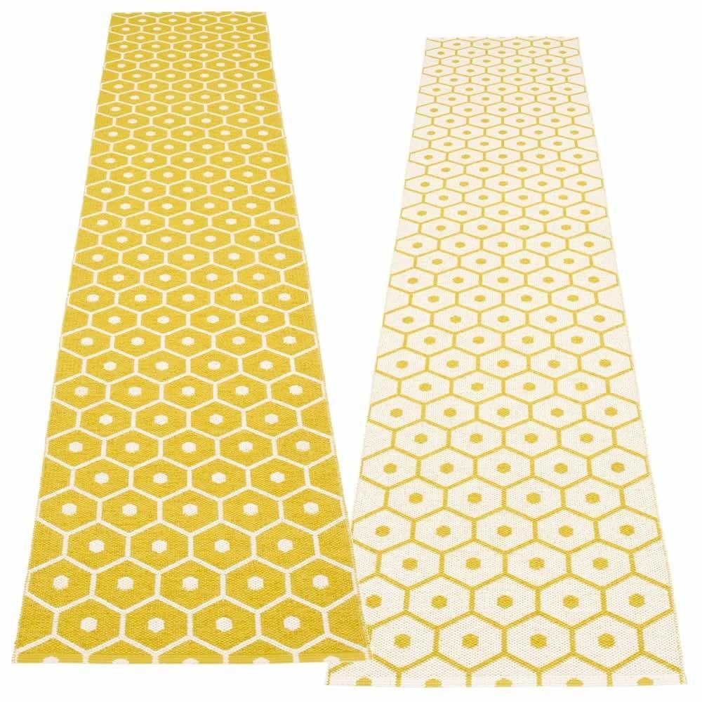 Pappelina Honey, Teppich, 70 x 350 cm
