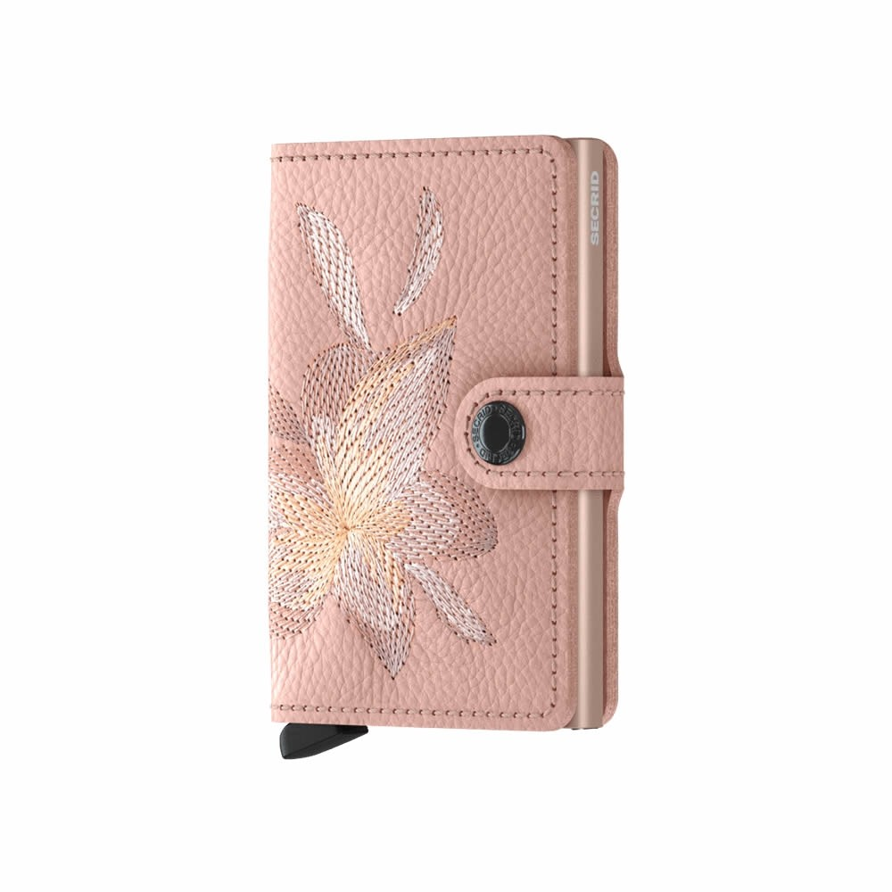 Secrid Miniwallet Stitch Magnolia - Rose