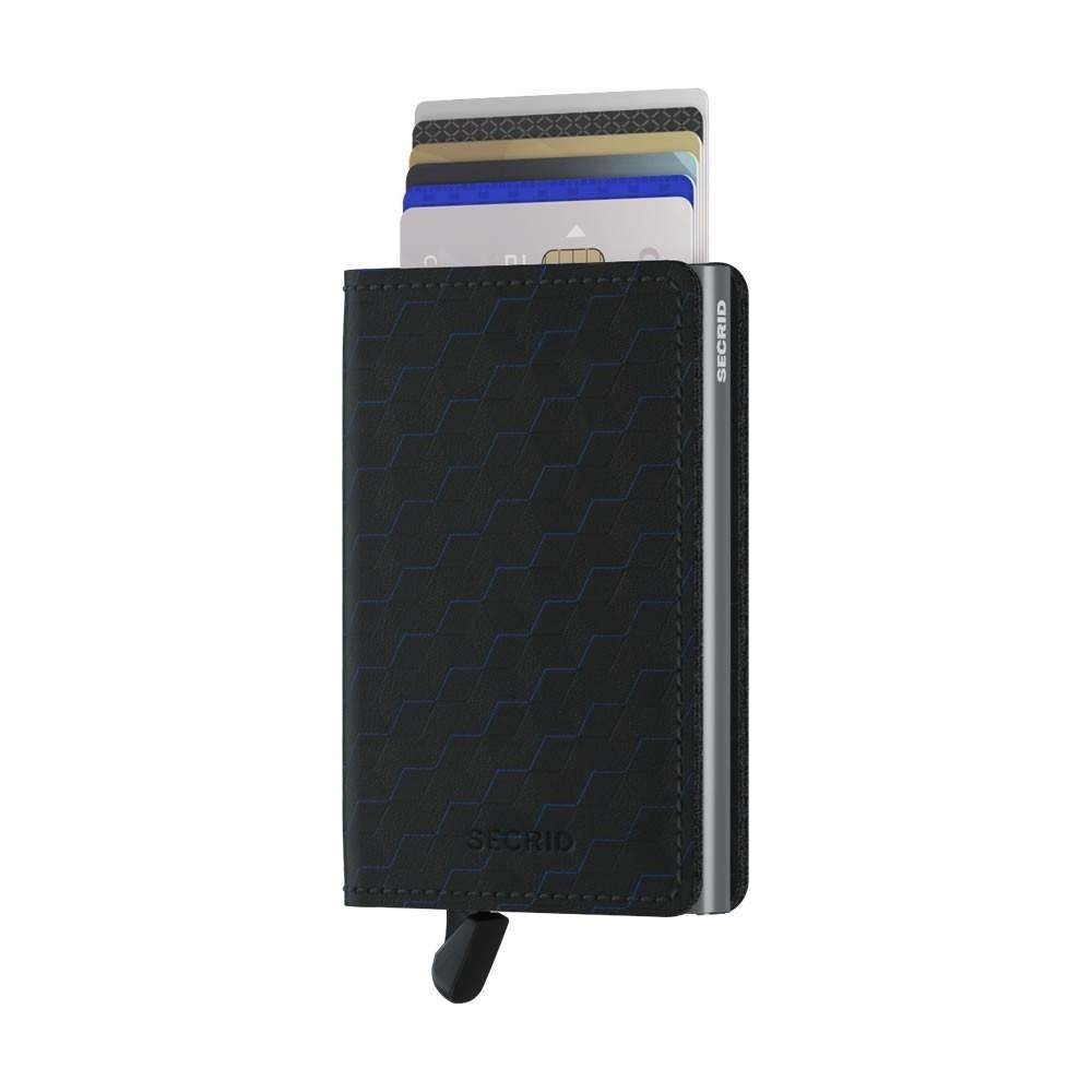 Secrid Slimwallet Optical - Black-Titanium