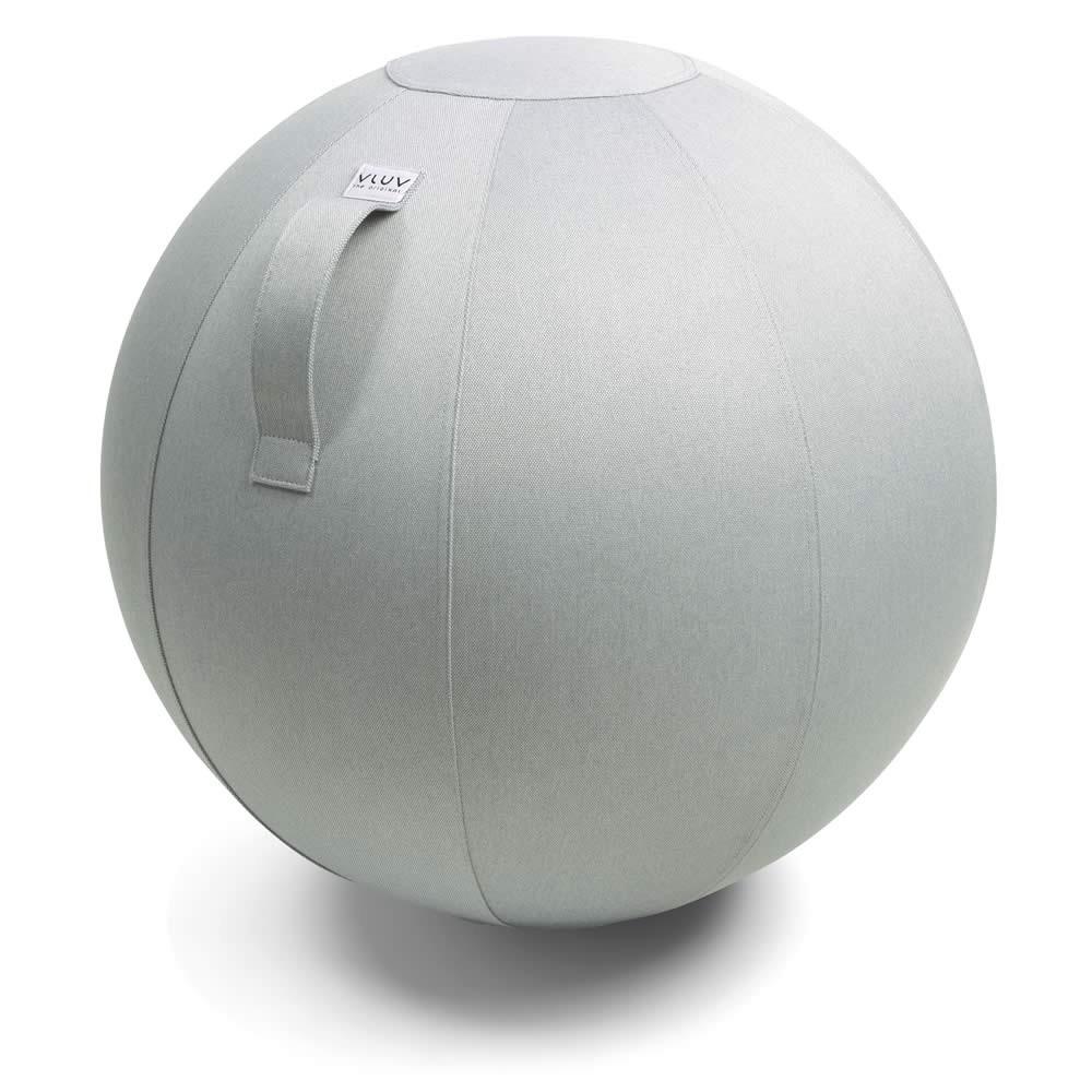 Vluv Leiv Sitzball, Silver, 60-65 cm