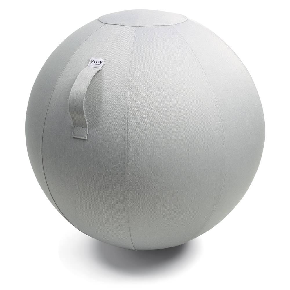 Vluv Leiv Sitzball, Silver, 70-75 cm