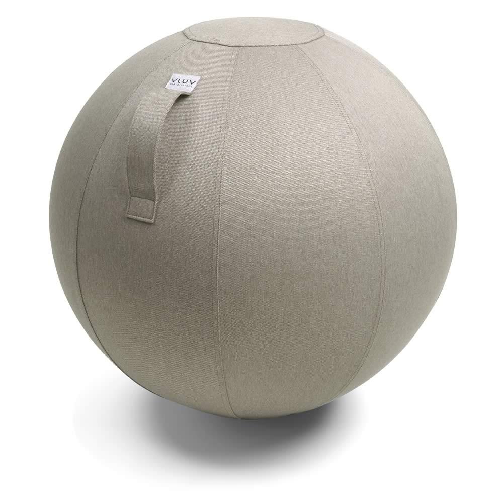 Vluv Leiv Sitzball, Stone, 60-65 cm