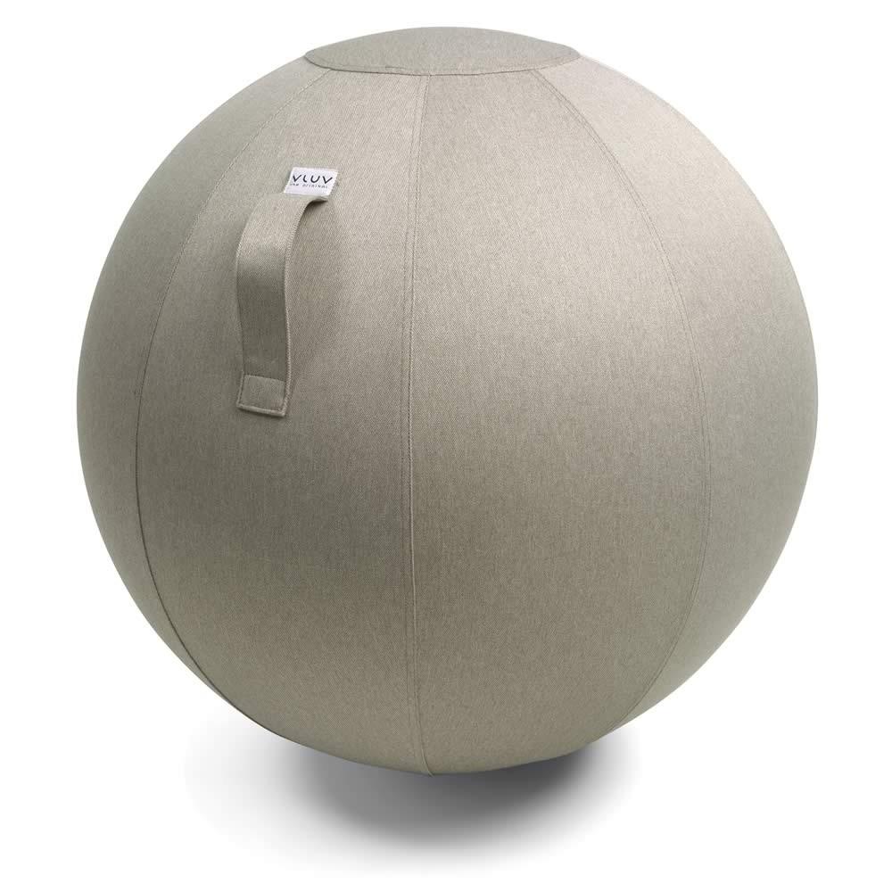 Vluv Leiv Sitzball, Stone, 70-75 cm