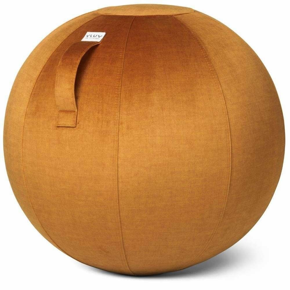 Vluv Varm Sitzball, Pumpkin, 70-75 cm