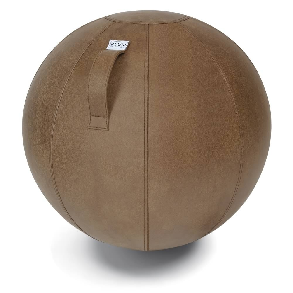 Vluv Veel Sitzball, Cognac, 60-65 cm