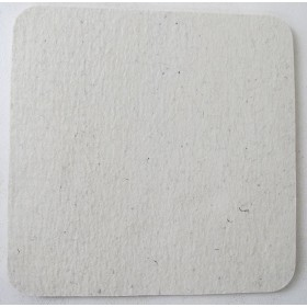 Filz Sitzauflage, Wollfilz, Weiß