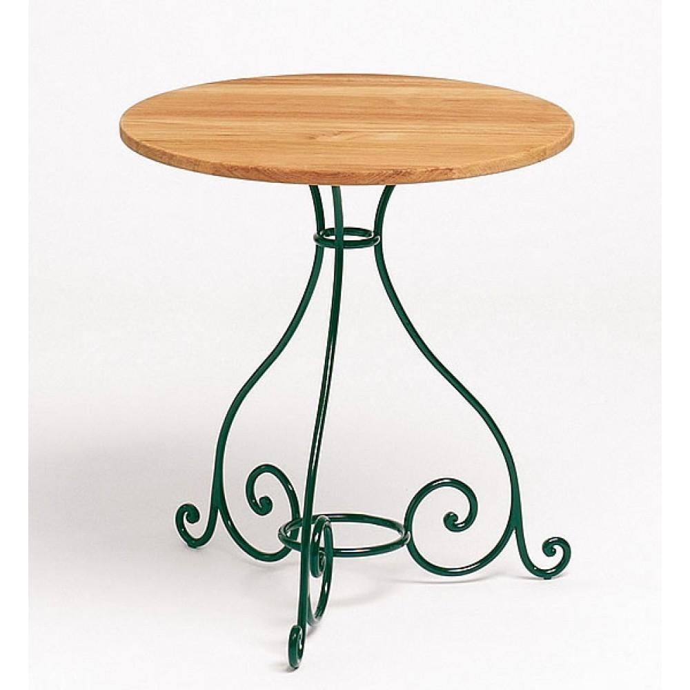 Weishäupl Tisch Classic, Schmiedeeisen