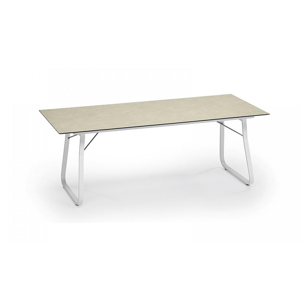 Weishäupl Klapptisch Ahoi, 200 x 90 cm - Tischplatte Beige