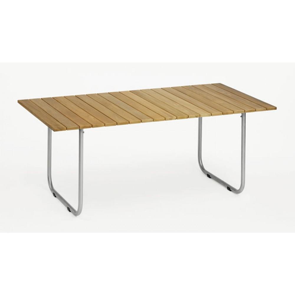 Weishäupl Tisch Prato, Teak - 140 x 90 cm