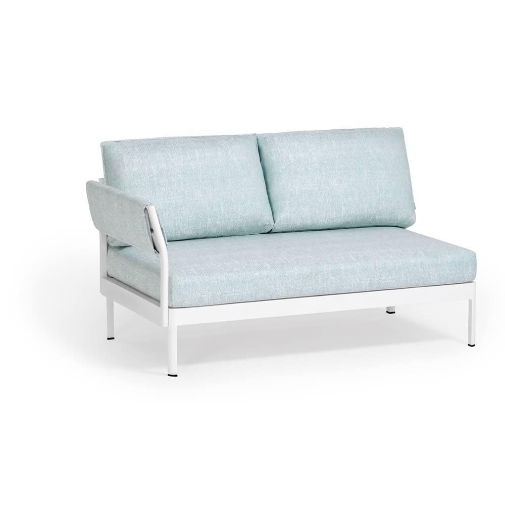 Weishäupl Minu 2-Sitzer Element mit Armlehne links