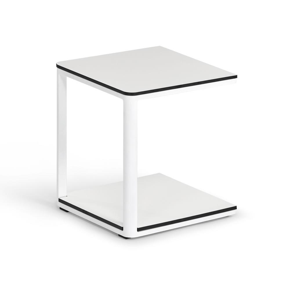 Weißhäupl Beistelltisch Minu, 40 x 40 cm - HPL Tischplatte